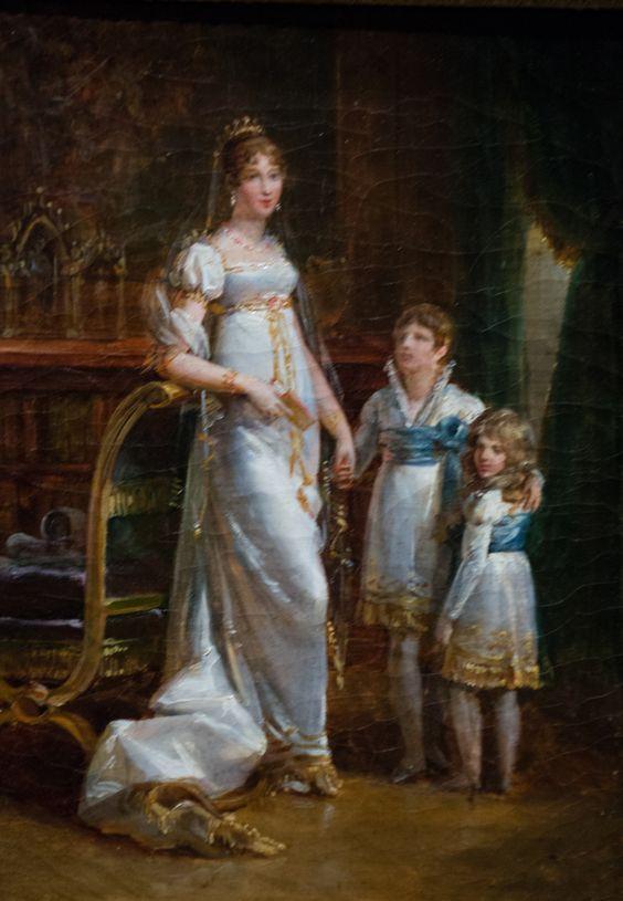 ジョセフィーヌと2人の子供