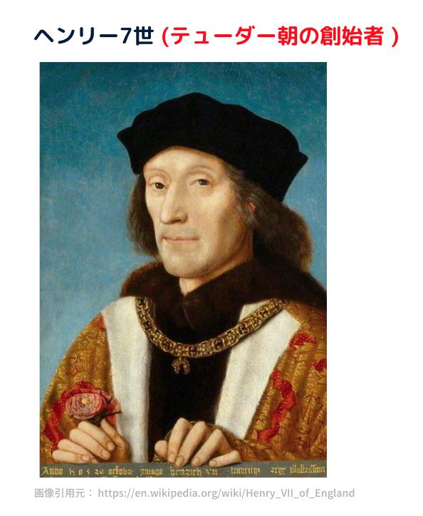 テューダー朝の創設者 ヘンリー7世