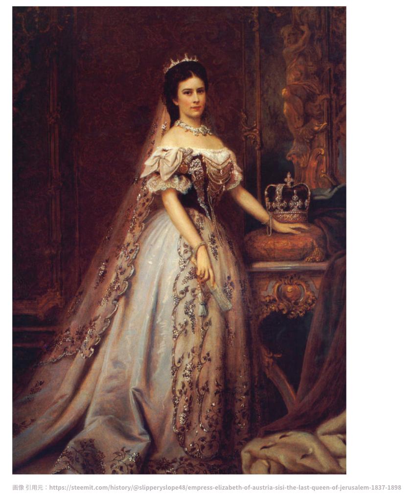 シシィ (エリザベート) の肖像画