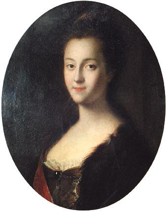 若き日のエカチェリーナ2世 キャサリン