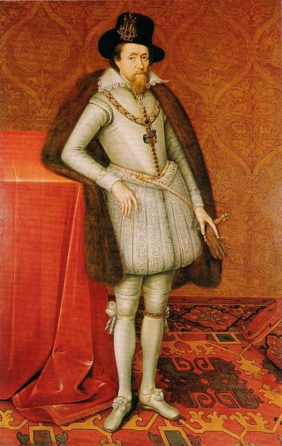 1606年頃のジェームズ