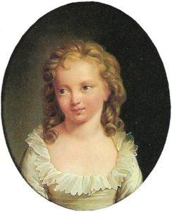 マリー・テレーズ・シャルロット・ド・フランス (肖像画)