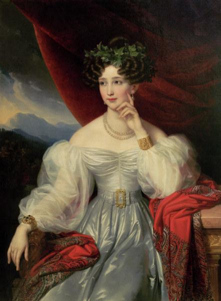 ゾフィー大公妃、ヨーゼフ・カール・シュティーラー画、1830年