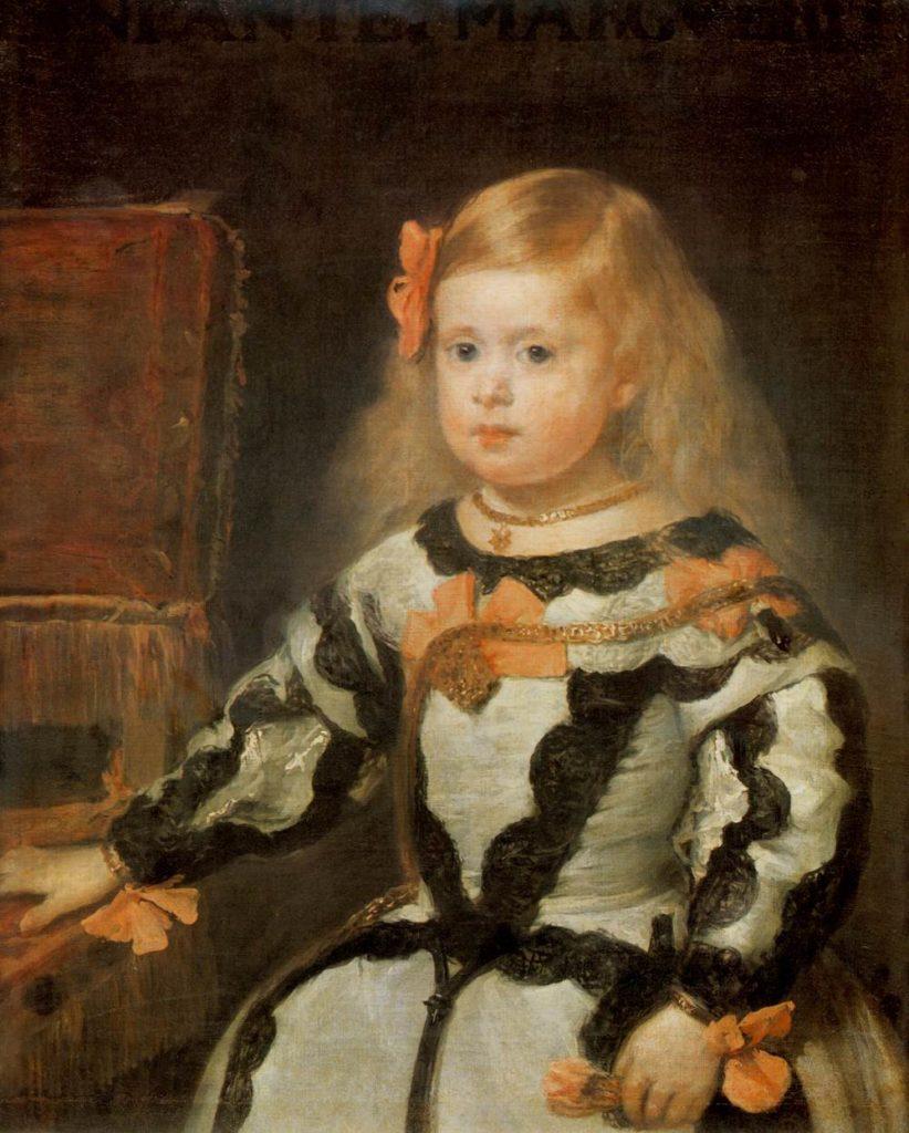 2歳のころのマルガリータ・テレサ