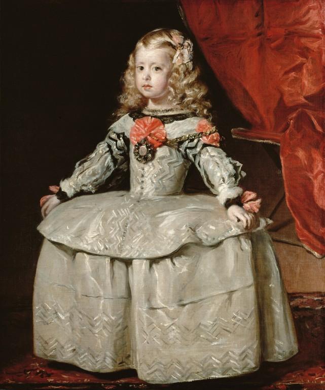 白いドレスの王女