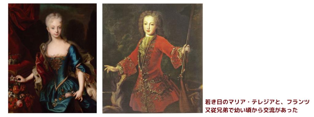 Francis and Maria Theresa