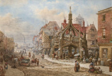 Louise_Rayner_Salisbury_The_Poultry_Cross