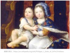 ルイ14世と弟フィリップ1世