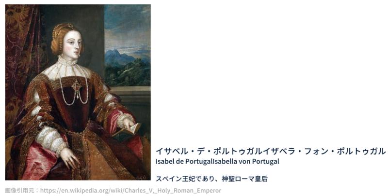 カール5世の妻 イザベラ