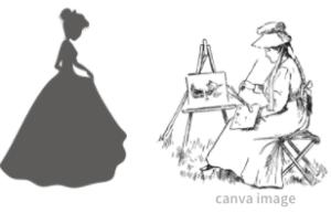 王女と画家
