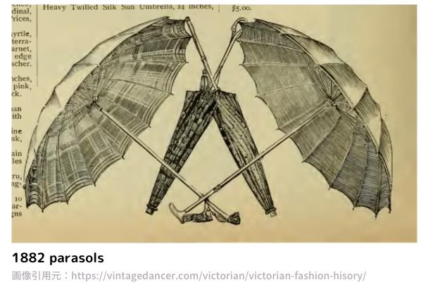1882 parasols