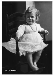 エリザベス女王の若い頃