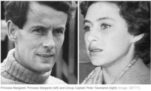 マーガレット王女とタウンゼント大佐