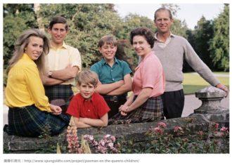 エリザベス女王 の子供達 (チャールズ皇太子とアン王女)