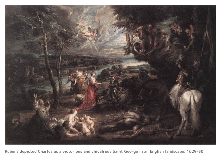 チャールズ1世とルーベンス