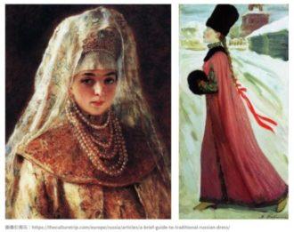 ロマノフ王朝 ドレス