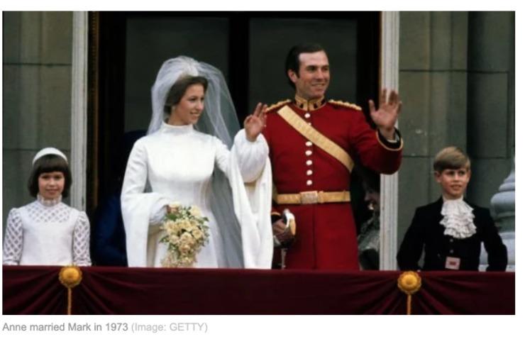 アン王女と旦那まーくフィリップス