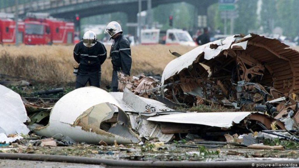 コンコルド 超音速旅客機の墜落事故