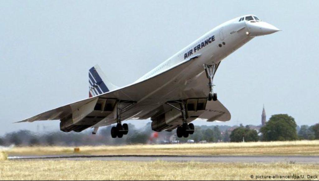 コンコルド 超音速旅客機