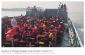 バングラデシュ難民 泥の島
