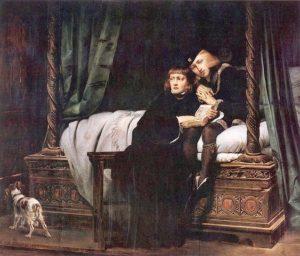 ポール・ドラローシュ『エドワード5世とリチャード兄弟』