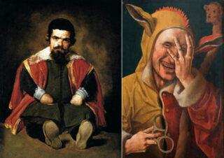 スペイン宮廷の慰み者 (宮廷道化師)