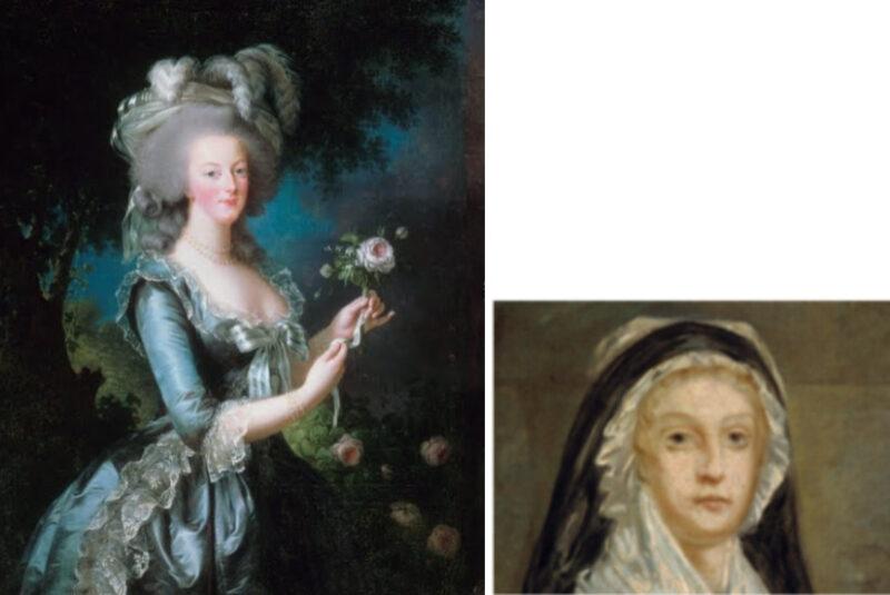 マリー・アントワネット (フランス革命前後の絵画)
