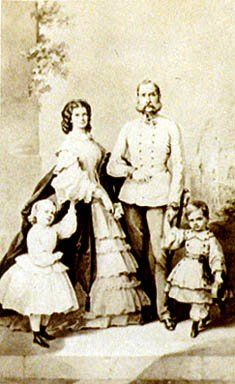 皇妃エリザベートと子供たち