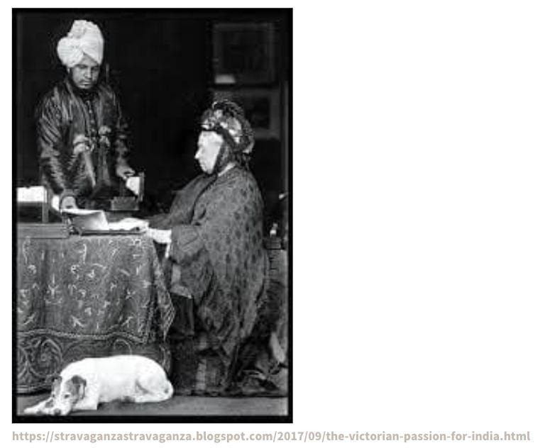 ヴィクトリア女王とインド