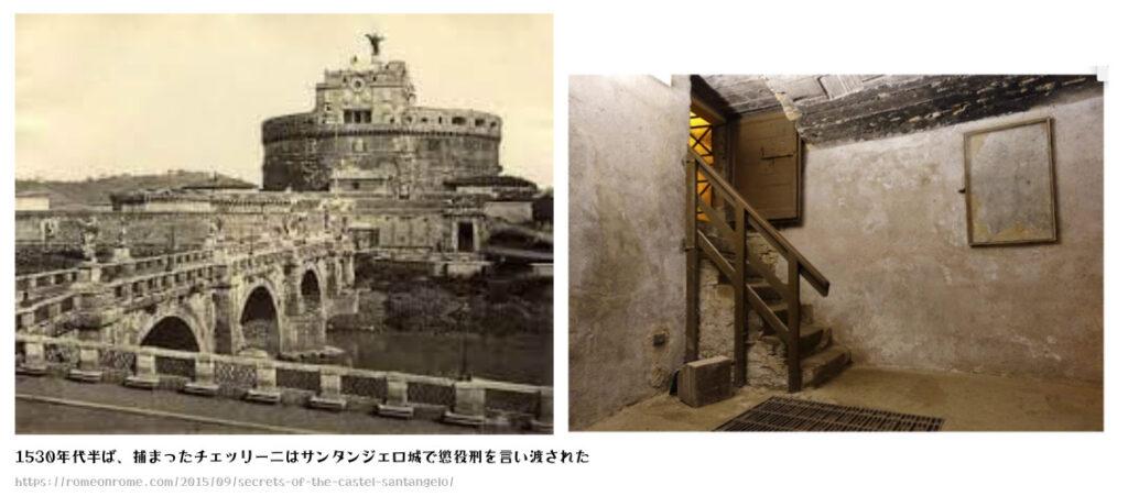 サンタンジェロ城の牢獄