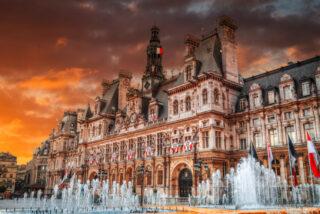 パリ市庁舎広場