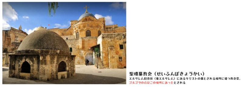 聖墳墓教会 (エルサレムをかんたんに)